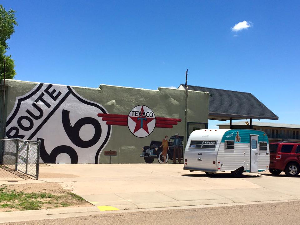 300 Sisters take Route 66