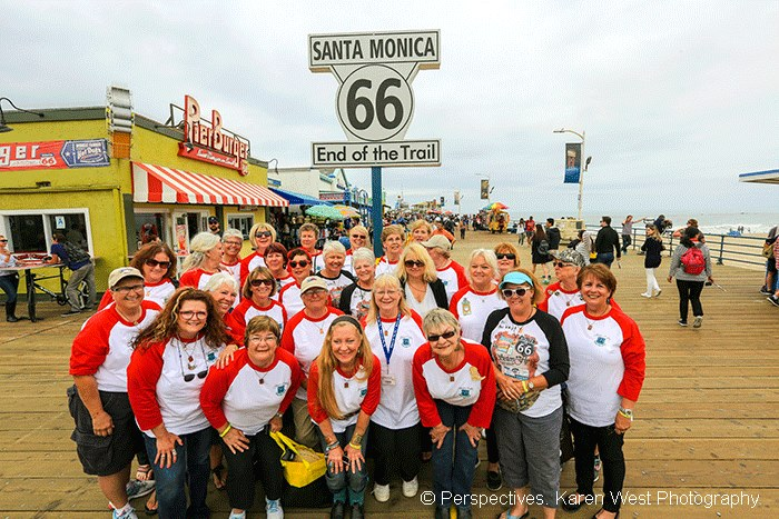 Sisters on the Fly Complete Historic Route 66 Journey