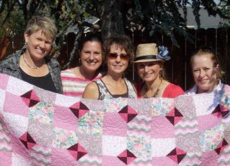 dani from CFR and her SOTF quilt