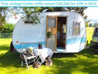 Raffle trailer