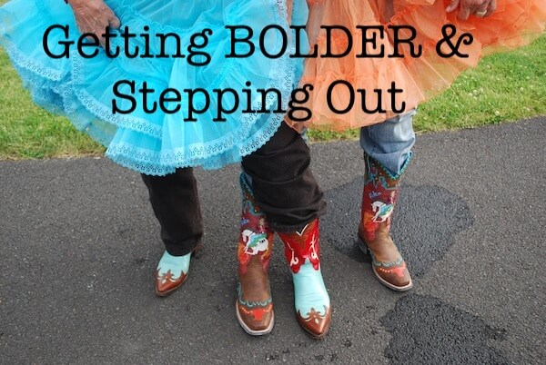 Step Out & Be Bold