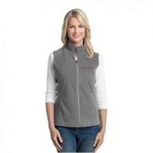 SOTF Embroidered Pearl Grey Micro-fleece Vest