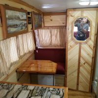 (ALERT PRICE DROPPED ROCK BOTTOM ) A BEAUTIFUL KNOTTY PINE INTERIOR 1968 ARISTOCRAT -TOTALLY SELF