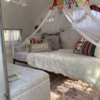 Rare 1955 Totally  Redone Empire Camper Glamper Boutique Airbnb Food Truck