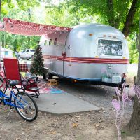 Frame Up Total Restoration 1981 Airstream Trailer all Glammed Out!!!