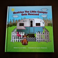 Beatrice The Little Camper Gets Rescued Children's Book