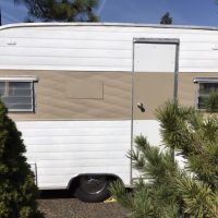 1963 Aloha 12 foot caned ham trailer for sale