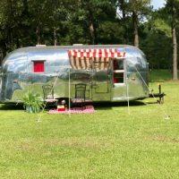 RESTORED-1958 Airstream Caravanner-Vintage Camper- Rare-Shower-Potty