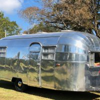Restored 1953 Airstream Flying Cloud