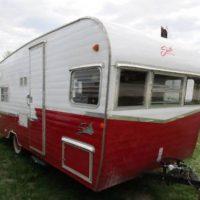 Shasta Airflyte ReIssue 19' Retro Red Camper- Vintage Look