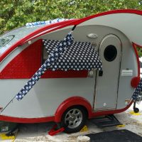 2014 TAB MAX S Travel Trailer, interior kitchen and wet bath,  with upgrades and accessories!